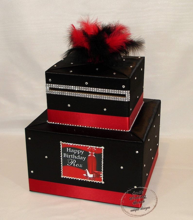 DIVA themed Card Box any colors can be made image 0