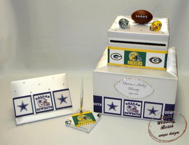 Sport theme Card Box and matching Guest Book and Pen-any sport image 0