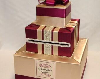Elegant Custom Made Card Box-any color combination