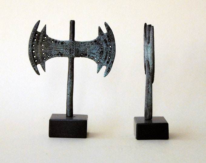 Featured listing image: Minoan Bronze Double Axe