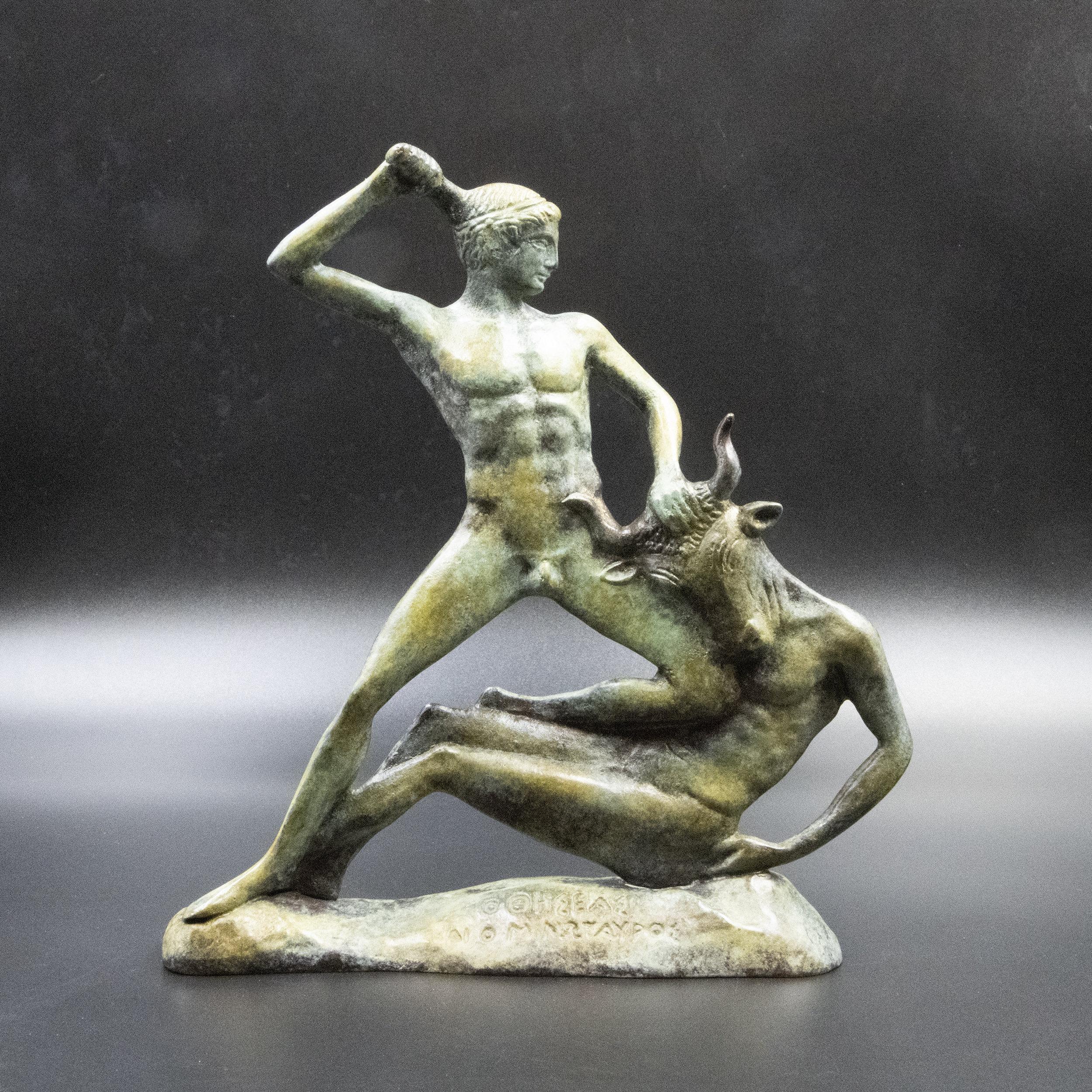 Ancient Greek Mythology Gift Minotaur sculpture
