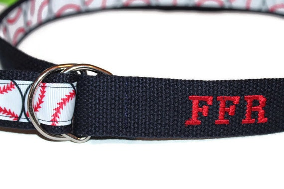 Kids Monogram Belt Personalized Belt Embroidered Navy and Red Ringbearer Belt Boys Navy and Red Belt NAvy Cinch Belt Boys Monogram belt
