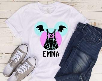 c25dbcef DISNEY jr - VAMPIRINA vampire custom mickey head inspired shirt KIDS &  adults (up to 6x!)