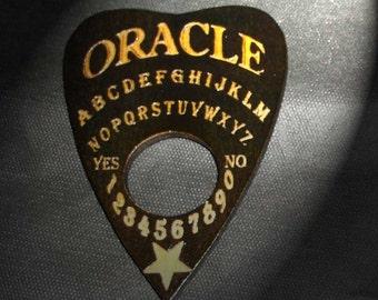Lord Mocks Black Oracle Planchette (Spirit Pointer)
