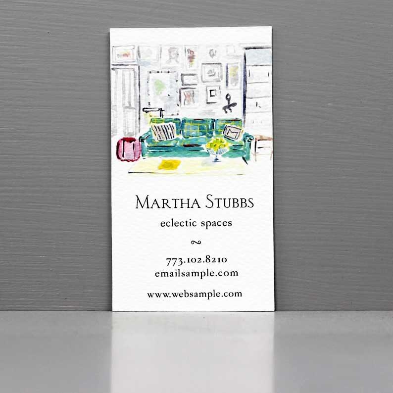 Interior Designer Business Card Home Stager Business Card image 0