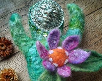 Handmade, Original, Spirit Doll, Earth Mother, Gaia  OOAK Art Doll.