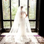 Extra full, extra wide - white, ivory, cathedral, regal, royal cathedral veil