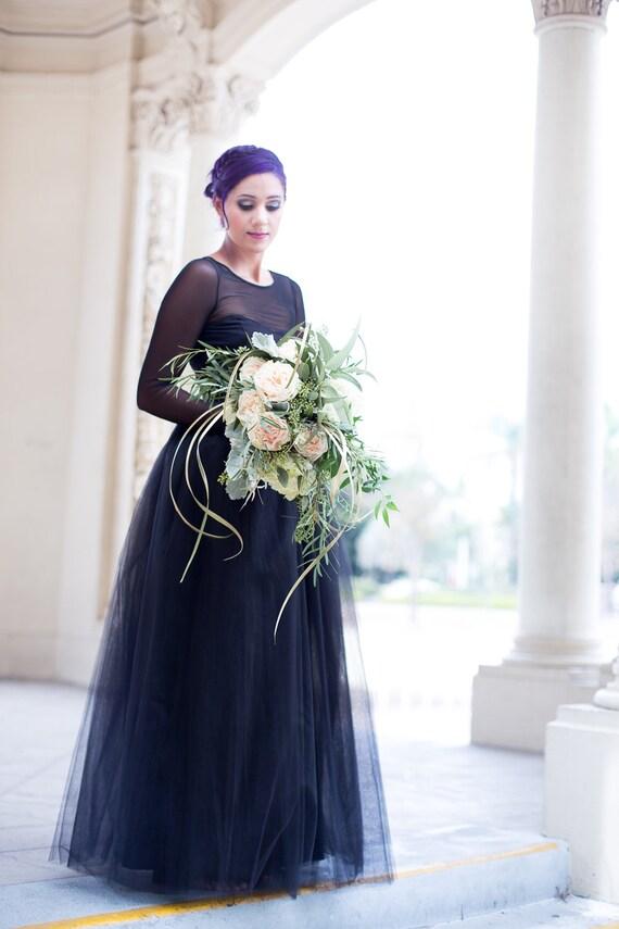 61faa88608 Full Length Floor length Tulle Skirt Extra Full Skirt Ivory | Etsy