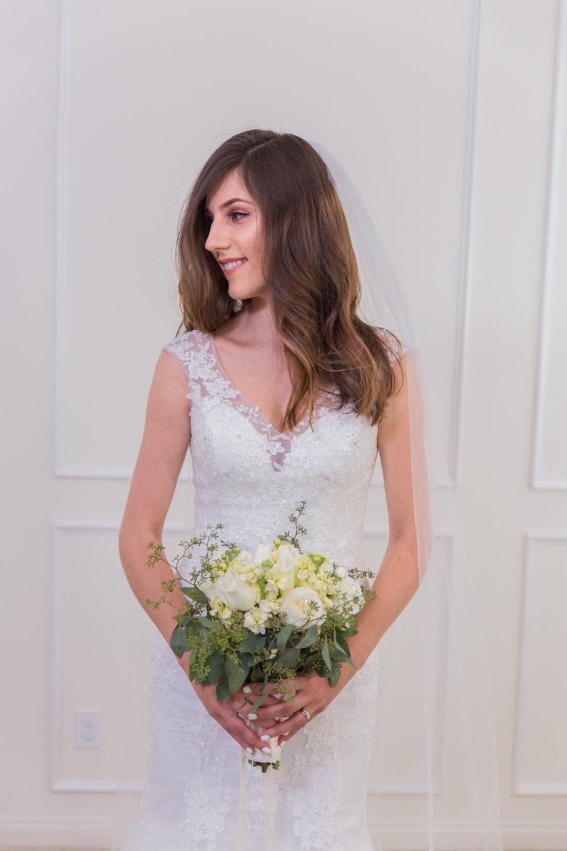 HIGH QUALITY  Fast Shipping Lace Wedding Dress   Beautiful image 0