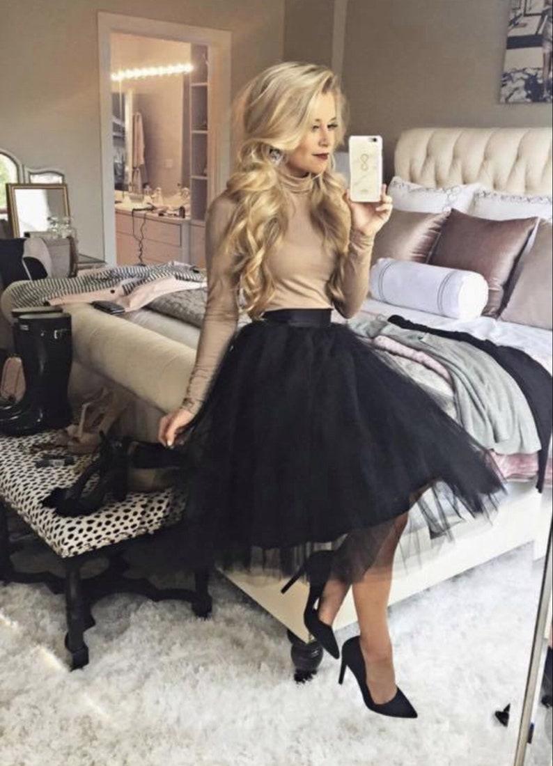 Tulle Skirt Adult tutu Extra Full Skirt Tulle skirt Tutu image 0