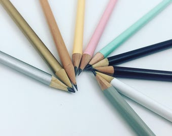 500 Custom engraved pencils bulk order set. promote your business,  save the date wedding, baptism, baby shower and more!