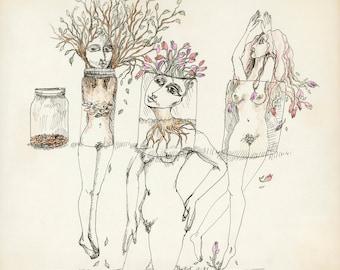 Jar Ladies Trees 1