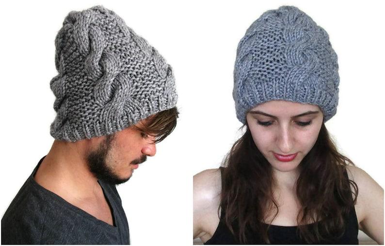 d83e87ec207 Cable Knit Hat Winter Beanie Knit Hat For Women Knit Hat