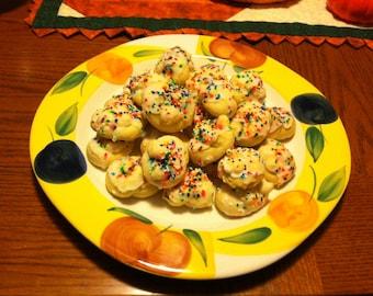 Grandma's Italian Love Knot  Cookies