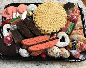 Italian Cookie Birthday Cake Charcuterie Board