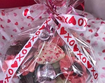 Cookies and Kisses Valentine cookiegram