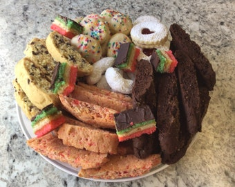 Italian Cookie Birthday Cake Charcuterie Board Mothers Day
