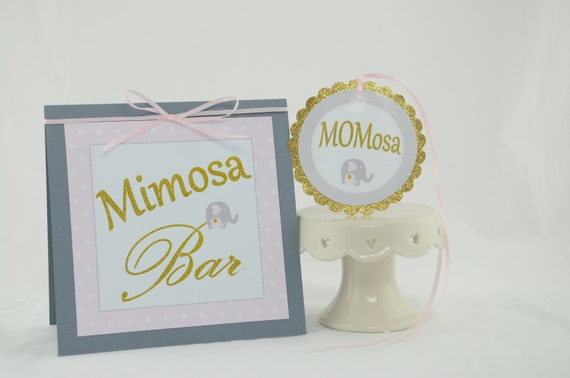 Pink theme cool bar Color Baby Shower Decorations Girl Baby Shower Pink And Gold Mimosa Bar Sign Momosa Tag Elephant Theme Baby Shower Elephant Baby Shower Deco Catch My Party Baby Shower Decorations Girl Baby Shower Pink And Gold Mimosa Bar