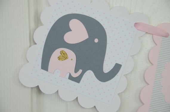 Baby Shower Decorations Girl Elephant Baby Shower Baby