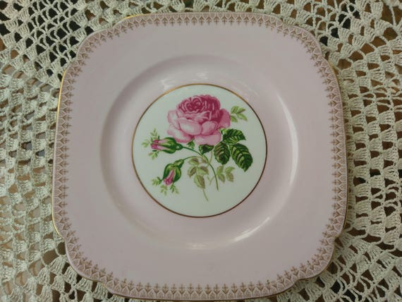 Clarence single rose unnamed unnumbered pattern 1950s