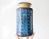 SALE //  Danish Modern Handmade Pottery Vase // Soholm Denmark