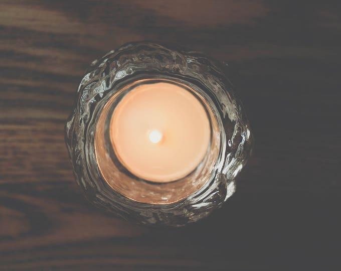Vintage Kosta Boda Scandinavian Modernist Icy Glass Snowball Candle Holders // Small Size // Ann Warff