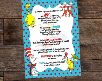Baby Shower Invitations - Gender Neutral Baby Shower - Printed Baby Shower