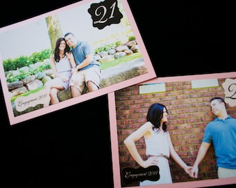 Photo Wedding Table Numbers
