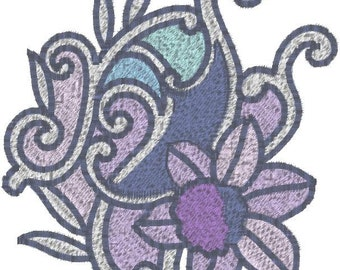 4x4 Hoop Violets machine Embroidery Designs in your format. All but ART.
