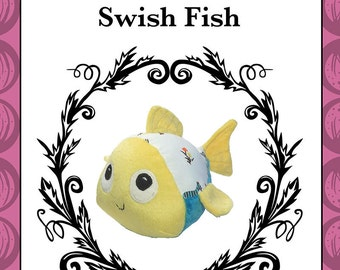 Swish Fish - Plush Fish Toy Pattern
