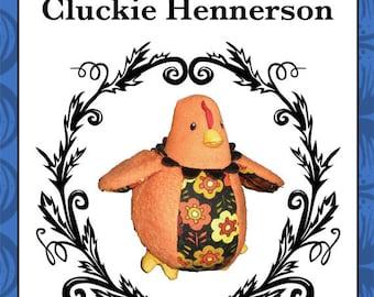 Plush Chicken Toy Pattern