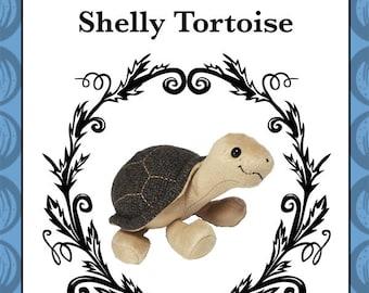 Plush Tortoise Toy Pattern