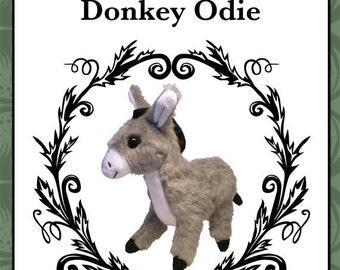Plush Donkey Toy Pattern