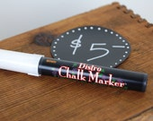 White Chalkboard Chalk Pe...