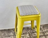 Custom Upholstered Tolix ...