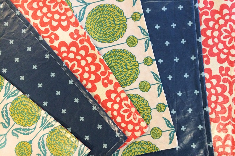 Custom Designed Patterned and Sewn Table Setting Placemats : image 0