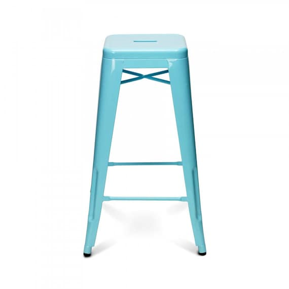 Superb Custom Painted Tolix Style Stool In The Color Of Your Choice 24 Counter Height Machost Co Dining Chair Design Ideas Machostcouk