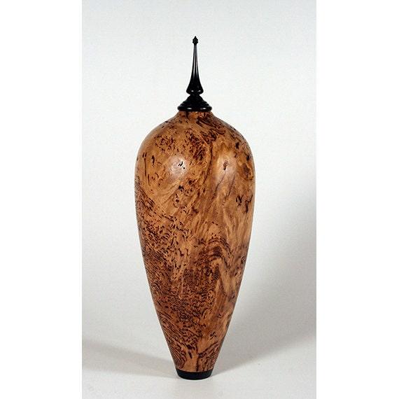 Tasmanian Eucalyptus Burl Decorative Vase