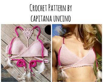44e66ff6a5e7 PDF-file for Crochet PATTERN Aliyah Crochet Bikini Top and