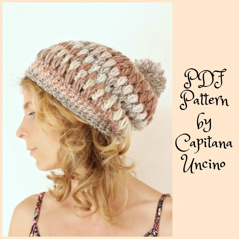 cb0016fc7d4 PDF Crochet PATTERN for Amelia Beanie