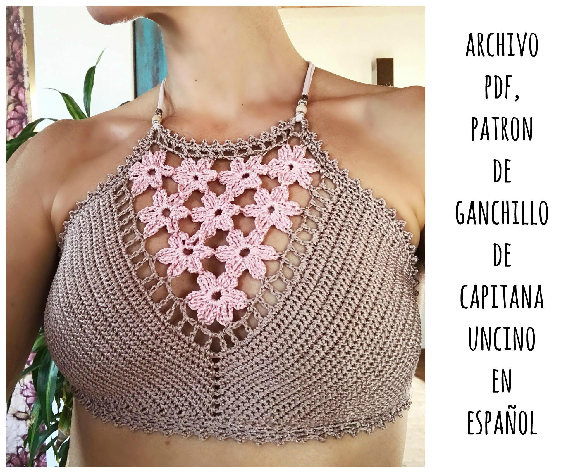 PDF PATRON de Ganchillo Coralia Top Bikini Parte de | Etsy