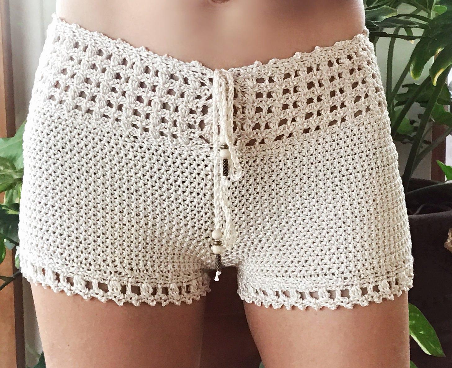 PDF PATRON de Ganchillo para Leyla Pantalones cortos con | Etsy
