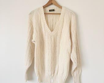 Vintage Deadstock Cotton Sweater Size M