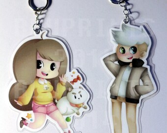 Bee and Puppycat Key Chains