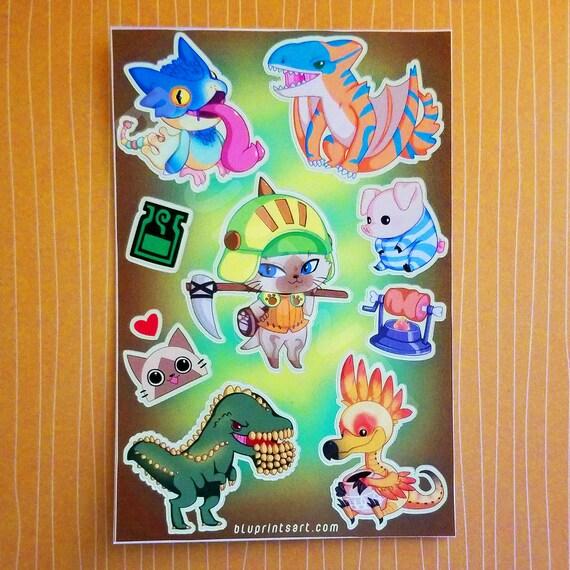 Monster Hunter Journal Art