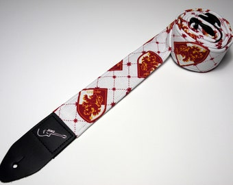 Wizard House Guitar Strap - This is NOT a Licensed Product