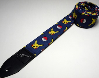 Popular anime guitar strap, handmade and double padded - This is NOT a licensed product