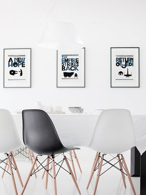Movie Poster A New Hope Printable File Star Wars Quote Etsy