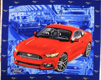Muscle Car Fabric Etsy