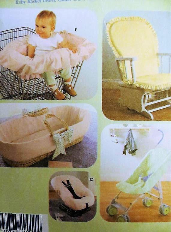 Astounding Simplicity 4636 Baby Accessories Sewing Pattern Baby Basket Insert Umbrella Stroller Cover Car Seat Cover Glider Chair Cover Nursery Spiritservingveterans Wood Chair Design Ideas Spiritservingveteransorg